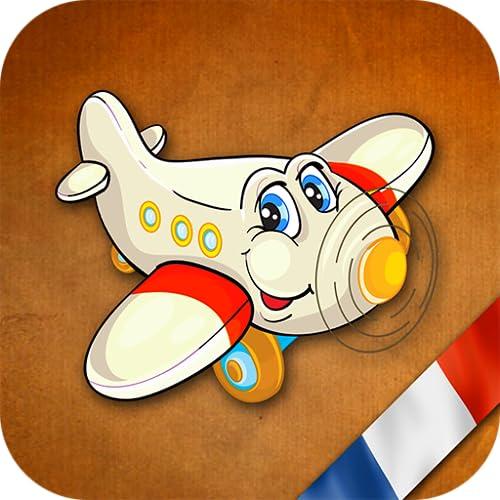 GeoVuelo Francia: Aprender Geografía Francés divertida y educativa