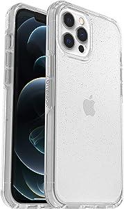 OtterBox per Apple iPhone 12 Pro Max Custodia Trasparente Resistente a Cadute Sottile, Gamma Symmetry Clear, Trasparente