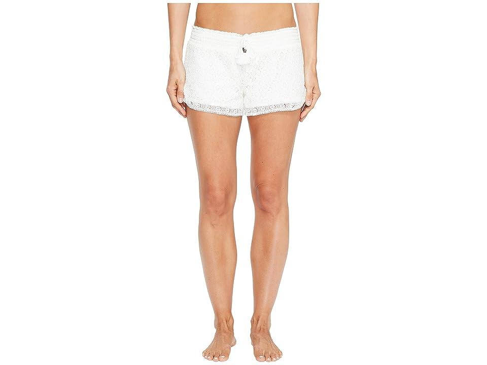 P.J. Salvage Festival Lace Shorts (Natural) Women