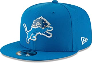 New Era Detroit Lions Metal and Thread 9FIFTY Snapback Adjustable NFL Hat