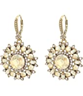 Marchesa - Medium Round Drop Earrings