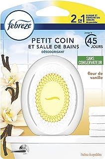 Febreze Petit Coin, Désodorisant WC En Continu Pour Élimination Et Prévention Des Odeurs - Fleur de Vanille