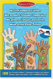 Melissa & Doug Mis Primeros Tatuajes Temporales: Aventura, Criaturas, Deportes, y Más (Más de 100 Tatuajes Para Niños)