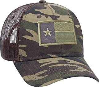 Strange Cargo Texas State Flag Patch Camouflage Camo Curved Brim Baseball Cap Hat