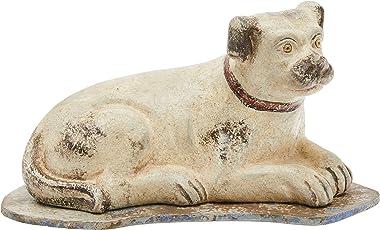 Better & Best 1341592Paper Mache Figurine–Dog Lying, Plastering