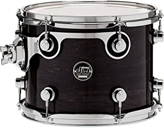 DW Performance Series Mounted Tom - 9 Inches X 12 Inches Ebony Stain Lacquer