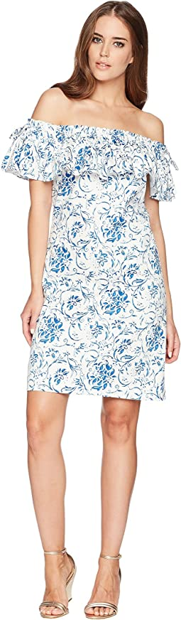 Floral Stretch Cotton Dress