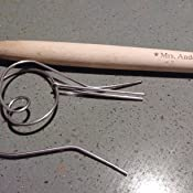 Anderson/'s Baking 51002 Bench Dough Scraper Mrs Natural Bamboo