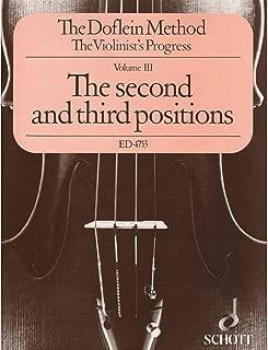 Schott The Doflein Method (Volume 3: The 2nd & 3rd Positions) Schott Series