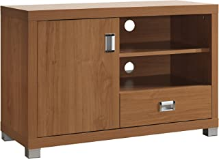TV Stand with Storage. Color: Maple