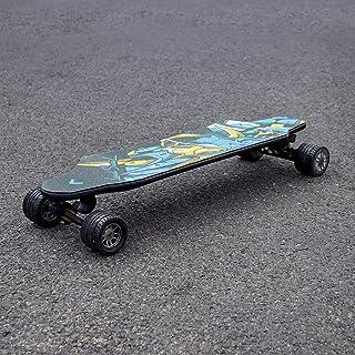 Electric-Skateboard 30 MPH Top Speed 750W Dual Motor, 15-18.6 Miles Range, Carbon Fibers Plate 16.1 Lbs, Electric Longboar...