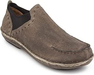 Tamarindo Boatslip Men's Leather Slip On Shoe - Sand