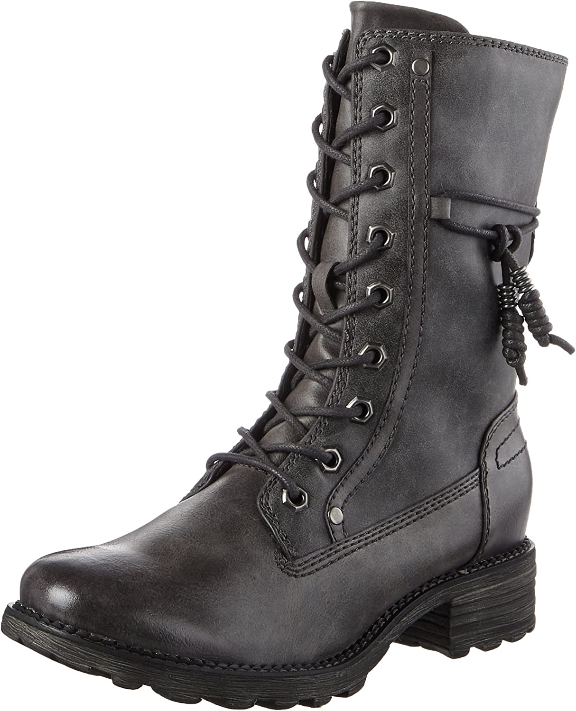 Tamaris Damen 26217 Combat Stiefel | Haltbarer Service