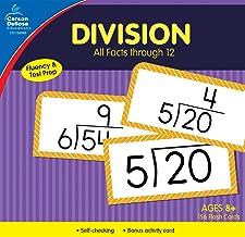 Carson Dellosa | Division Flash Cards | All Facts through 12, 156ct PDF