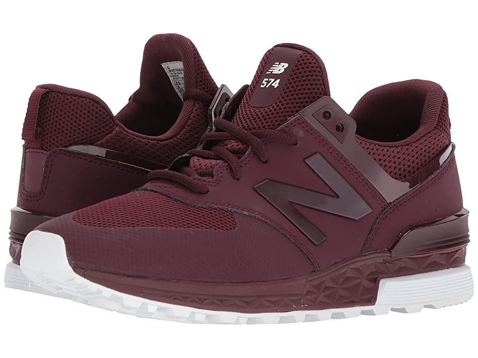 New Balance Classics MS574 (Burgundy) Men's Shoes