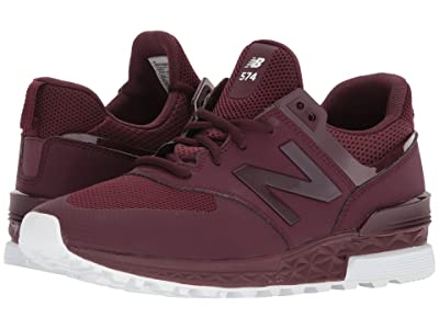 New Balance Classics MS574 (Burgundy) Men