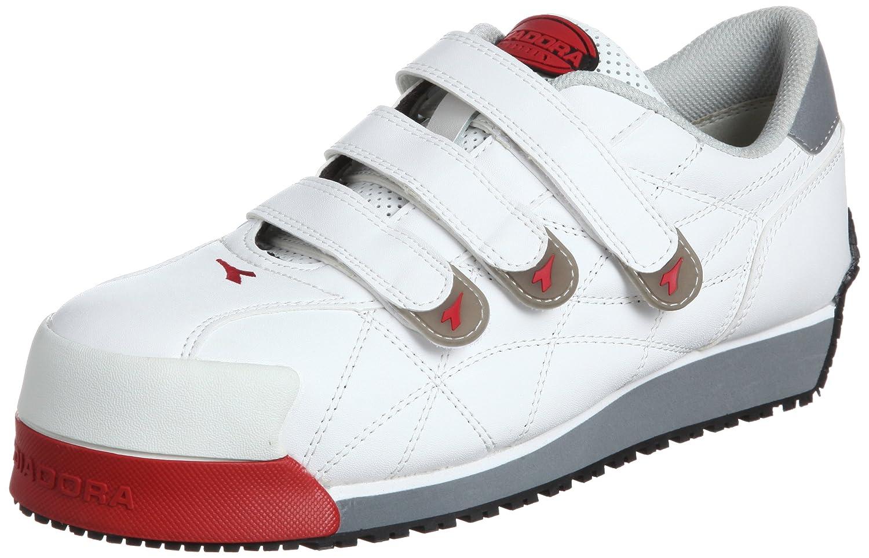 [ディアドラユーティリティ] 作業靴 スニーカー アイビス IB11 IB11 ホワイト(ホワイト/25.5)