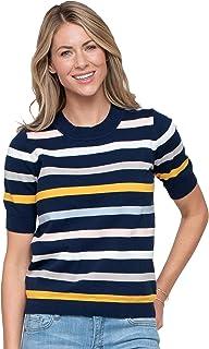 Downeast Women's Stripe Pullover Sweater