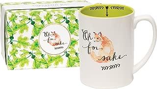 C.R. Gibson 'Oh For Fox Sake' Coffee Mug,  6.5'' W x 5'' H x 4'' D