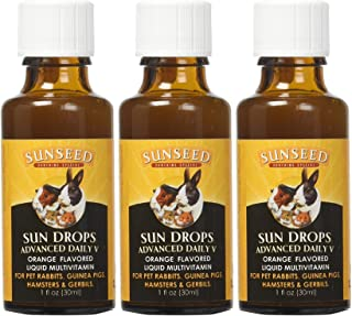 Sunseed Vita Prima Sundrops Advanced Daily V Liquid, 1 Ounce Per Pack