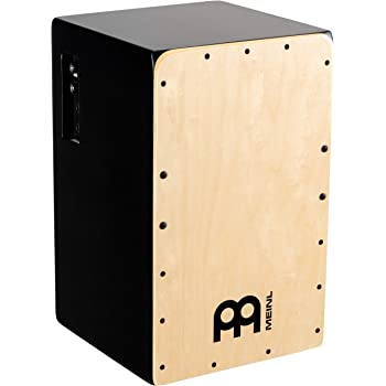 Meinl Pickup Cajon Box Drum with Internal Snares - MADE IN EUROPE - Baltic Birch Wood, Snarecraft Series, 2-YEAR WARRANTY (PSC100B)