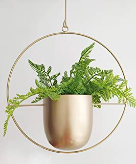 Best gold hanging planters Reviews