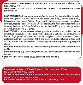 QXN New 100% Whey Bolsa 300g   Suplemento Deportivo con ...