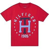Tommy Hilfiger Boys' Th Star Logo Tee Shirt