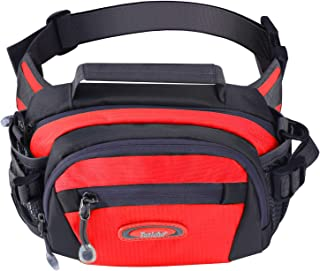 Y&R Direct Waist Bag Fanny Pack Waist Pack with Adjustable Water Bottle Holder,Large Fanny Packs for iPhone 7 8 Plus X,Outdoor Sports Hiking Cycling Carrying,Men Women Gifts
