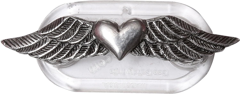 ReadeREST Boutique Eyeglass Holder, Winged Heart