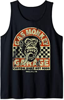 Custom Build Hot Rods Checkered Poster Tank Top