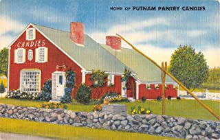 Putnam Pantry Candies, Danvers, Massachusetts Antique Postcard N5585