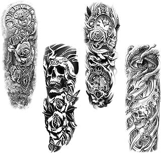 Full Arm temporäre Tattoos, Konsait extra temporär Tätowi