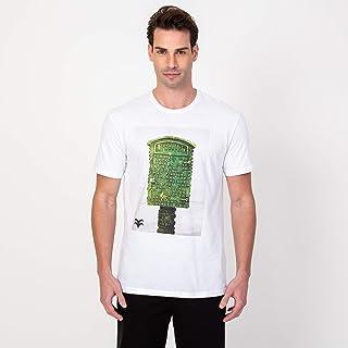 Camisa T-shirt Lifeguard Branca e Verde