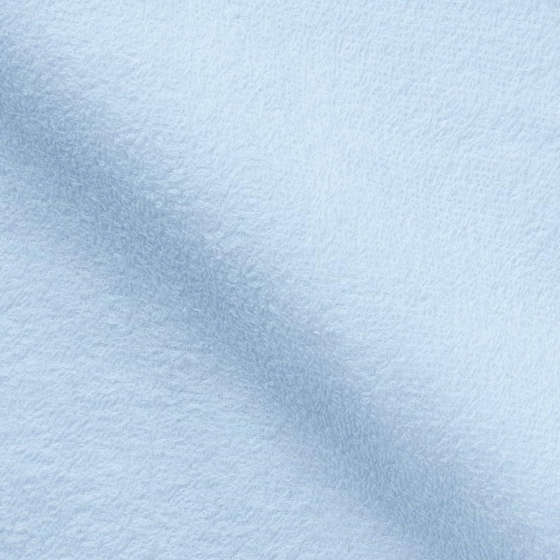 造船軽蔑する丘キヨタ 抗菌介護タオル(フェイスタオル12枚入) ブルー 34×84cm
