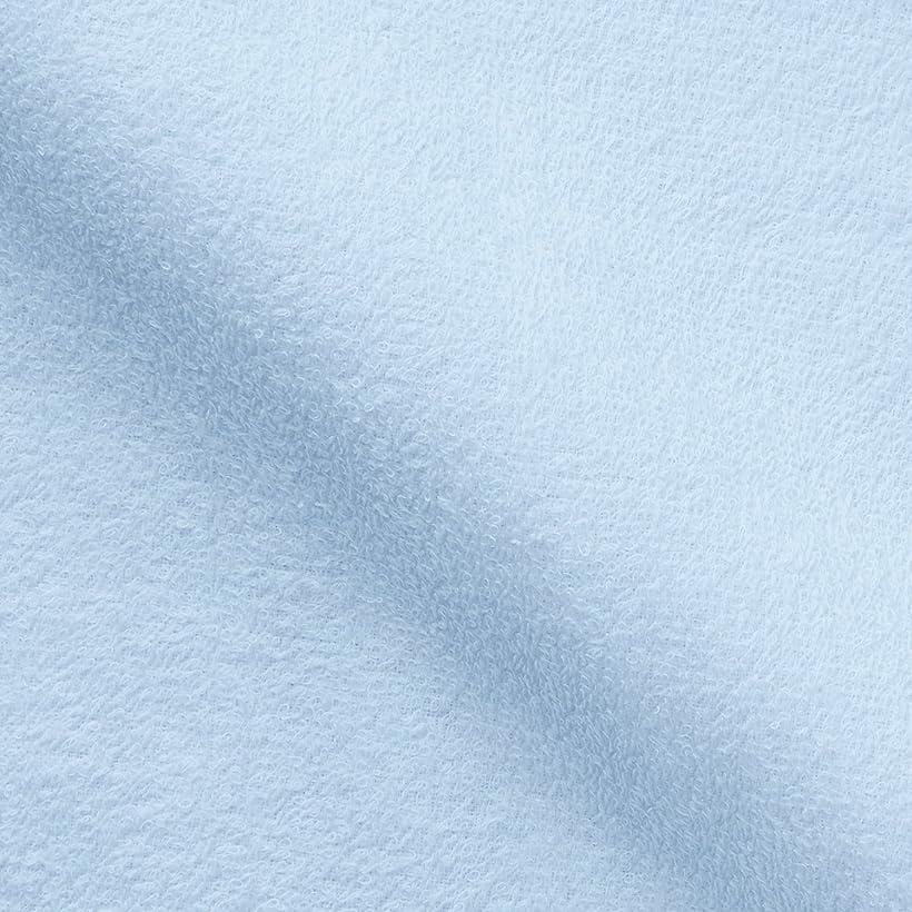 ケーキモットー系譜キヨタ 抗菌介護タオル(フェイスタオル12枚入) ブルー 34×84cm