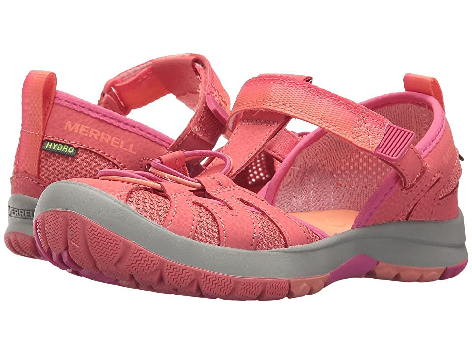 Merrell Kids Hydro Monarch 2.0 (Toddler/Little Kid/Big Kid) (Coral) Girls Shoes