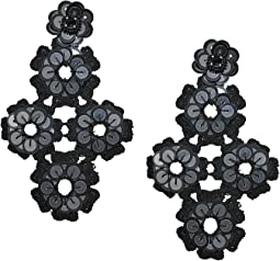 Kate Spade New York Posy Grove Sequin Statement Earrings