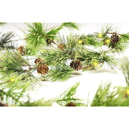 18 feet of pine garland BR22