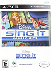 Disney Sing It Family Hits with Logitech Microphone for Playstation 3 PS3 Game