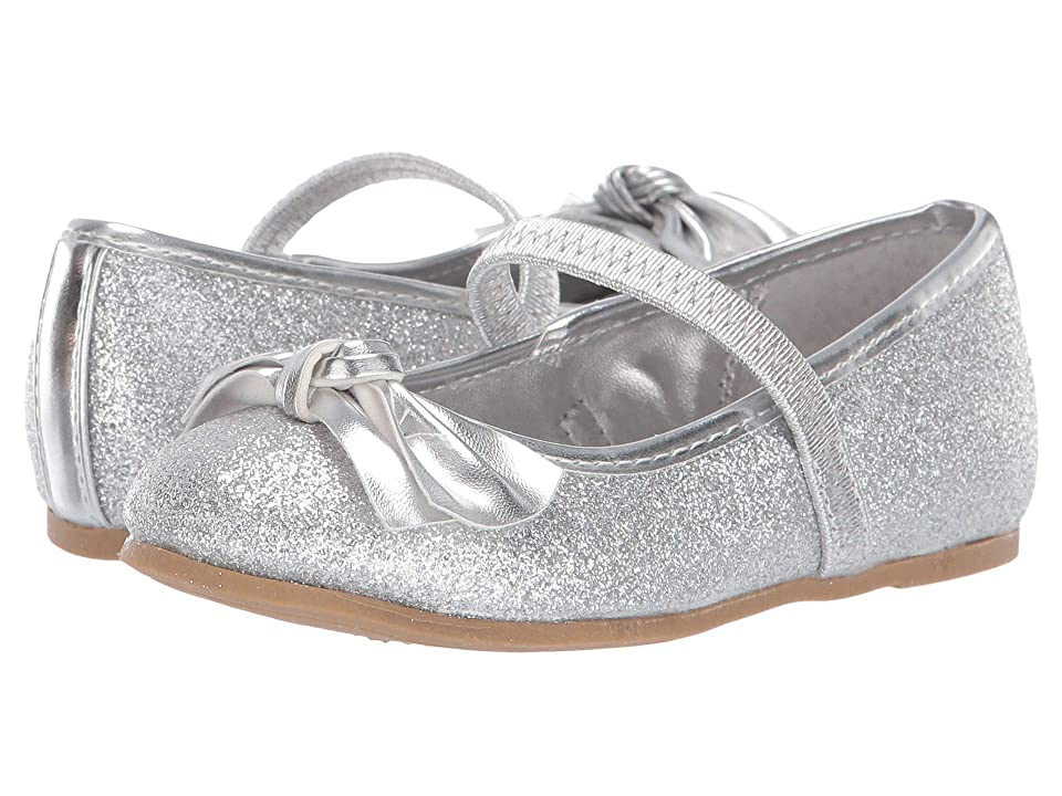 Nina Kids Liza-T (Toddler/Little Kid) (Silver) Girls Shoes