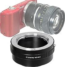 Fotasy MD Lens to Sony E-Mount Adapter, Compatible with Minolta MD Lens & Sony E-Mount Camera NEX-5T NEX-6 NEX-7 a3000 a3500 a5000 a5100 a6000 a6100 a6300 a6400 a6500