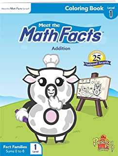 Meet the Math Facts Level 1 - Coloring Book