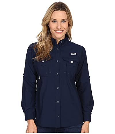 Columbia Bahamatm L/S Shirt (Collegiate Navy) Women