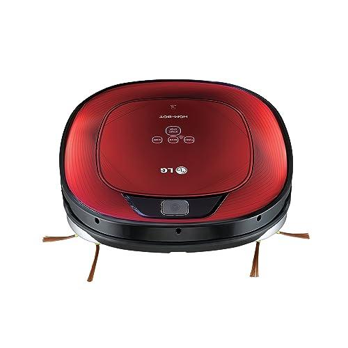 LG HomBot Square Aspirador Robot Vr64702lvmb Hepa 12,Rojo, 23 W, 23 Decibeles