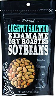 Roland Edamame, Lightly Salted, 4.4 Ounce (Pack of 12)