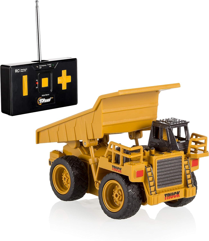 Top Race 4 Channel Mini sale Remote Dump 1:64 Control Scale Truck OFFicial shop Mi