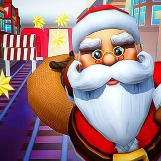 Santa Fun Race : Happy Xmas Subway Runner Game 2019