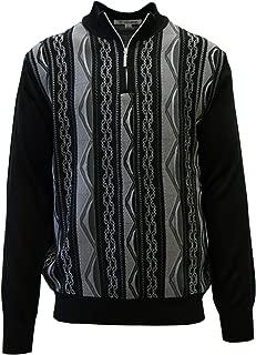Men's Sweater, Honeycomb Jacquard Design