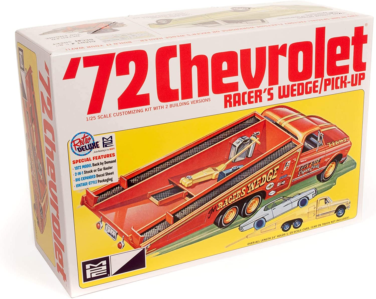 MPC 1972 Chevy Racer's Wedge 1:25 5 2021new shipping free shipping popular Model Kit Scale